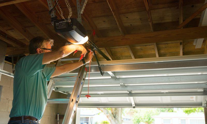 Repair of the garage door